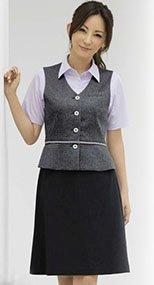 S-15980 15981 SELERY(セロリー) ニット Aラインスカート(53cm丈) 無地 99-S15980