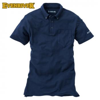 NR416 イーブンリバー ソフトドライ 半袖ポロシャツ