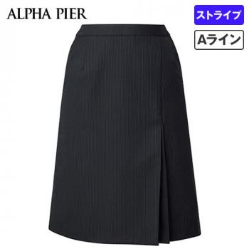AR3852 アルファピア Aラインスカート ストライプ 40-AR3852