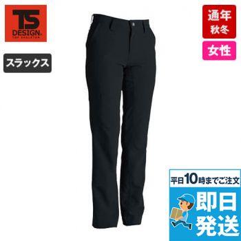 846121 TS DESIGN ストレッチタフ レディースパンツ(無重力パンツ)(女性用)