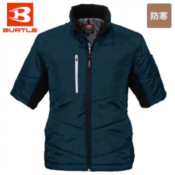 バートル 7316 PUコーティング半袖防寒ブルゾン