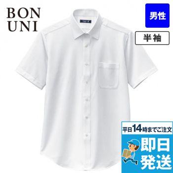 23116 BONUNI(ボストン商会) ニットシャツ/半袖(男性用)