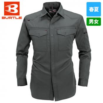 バートル 1103 [春夏用]制電T/Cライトチノ長袖シャツ(男女兼用)