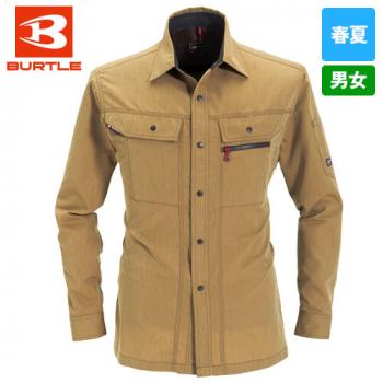 バートル 8063 ヴィンテージライトチノ長袖シャツ(男女兼用)