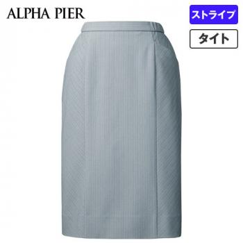 AR3880 アルファピア タイトスカート ストライプ(防シワ/防汚) 40-AR3880