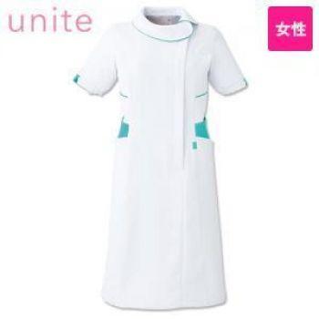 UN-0044 UNITE(ユナイト) ワンピース ラウンドカラー