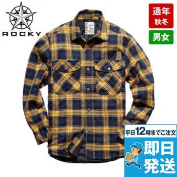 [在庫限り]RS4901 ROCKY キルトシャツ(男女兼用)