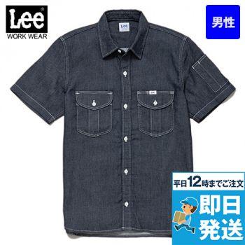 LWS46002 Lee ワーク半袖シャツ(男性用)