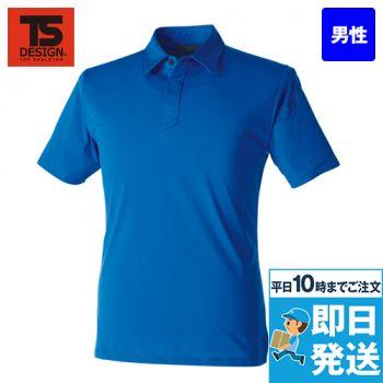 91055 TS DESIGN TS 4Dメンズショートポロシャツ