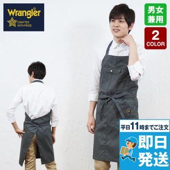 AZ64180 アイトス Wrangler(ラングラー) 胸当てエプロン(男女兼用)