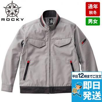RJ0911 ROCKY ブルゾン(男女兼用) オックスフォード