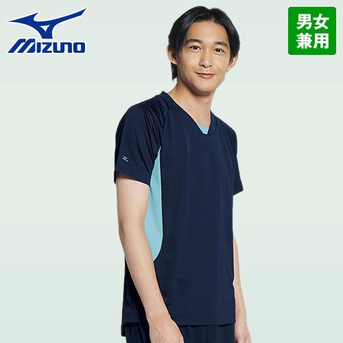 MZ-0199 ミズノ(mizuno) 入浴介助用ニットシャツ(男女兼用)