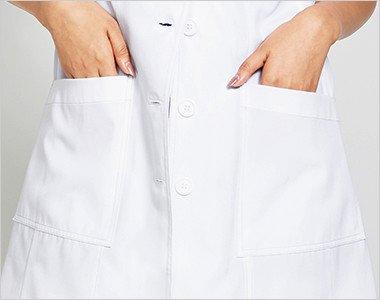 両腰 収納力抜群なポケット付き
