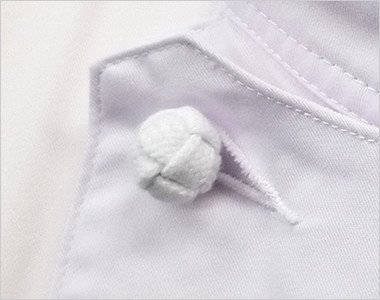 スタイリッシュで外れにくい組紐ボタン