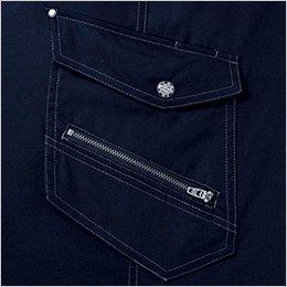 右ポケット デザインファスナー