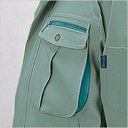左胸 胸ポケット