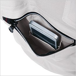 右胸 二重構造ポケット