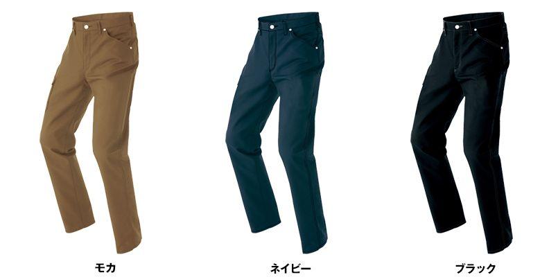 AZ64220 アイトス Wrangler(ラングラー) ノータックワークパンツ(男女兼用) 色展開