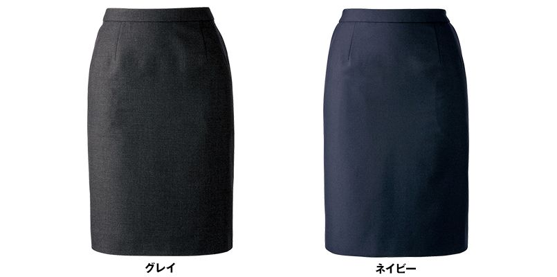 BONMAX AS2276 [通年]ジュビリー タイトスカート 無地 ストレッチ&抗菌防臭加工 色展開