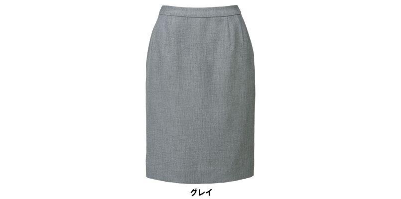 BONMAX LS2752 [春夏用]プラティーヌ ストレッチ素材のタイトスカート 無地 色展開
