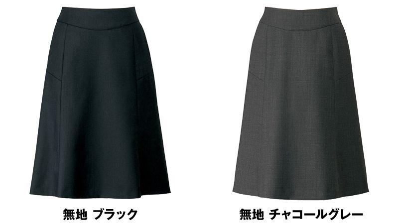 AR3841 アルファピア [秋冬用]セミフレアースカート ミニヘリンボーン 色展開