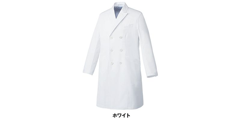 MZ-0140 ミズノ(mizuno) メンズドクターコート・ダブル(男性用) 色展開