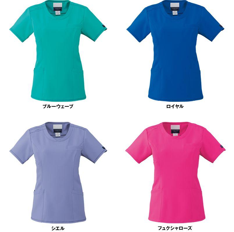 [在庫限り]CH751 FOLK(フォーク)×CHEROKEE(チェロキー) レディーススクラブ(女性用) 色展開