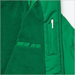 AZ2203 アイトス リフレクト裏フリースジャケット(男女兼用) ペン差しポケット&手帳などが収納できる縦型ポケット