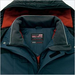 AZ6061 アイトス 寒冷地対応 光電子 防風防寒着ブルゾン 衿フリース
