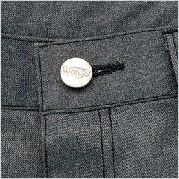 AZ64121 アイトス Wrangler(ラングラー) ノータックカーゴパンツ(男女兼用) 刻印タックボタン