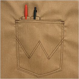 AZ64181 アイトス Wrangler(ラングラー) ミディエプロン(男女兼用) ペン差し付ポケット