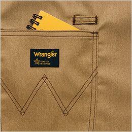 AZ64181 アイトス Wrangler(ラングラー) ミディエプロン(男女兼用) Wポケット&ループ付