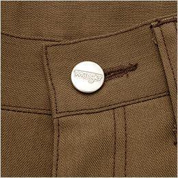 AZ64220 アイトス Wrangler(ラングラー) ノータックワークパンツ(男女兼用) 刻印ドットボタン