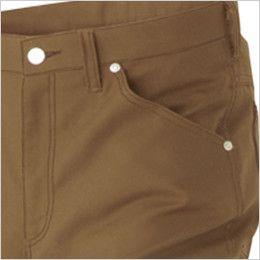 AZ64220 アイトス Wrangler(ラングラー) ノータックワークパンツ(男女兼用) 両脇 ポケット