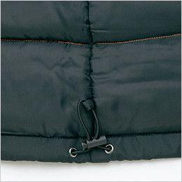 AZ8560 アイトス 防風防寒コート[フード付き・取り外し可能] ドローコード
