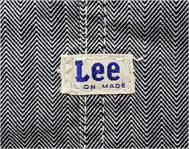 LCK79001 Lee オーバーオールエプロン(男女兼用) ポケットの上にLeeオリジナルロゴ