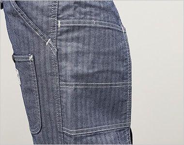 LCK79001 Lee オーバーオールエプロン(男女兼用) 脇ポケット