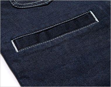 LCV19002 Lee ベスト(男女兼用) すっきりとした印象の箱ポケット