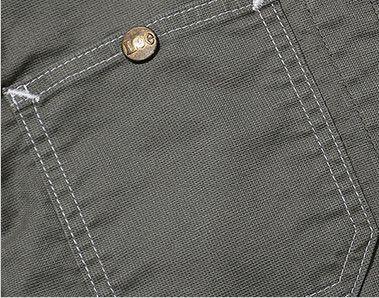 LWB03002 Lee ジップアップジャケット(女性用) ボタン付き
