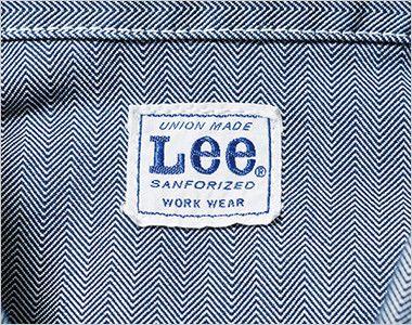 LWB06001 Lee ジップアップジャケット(男性用) Leeワークウェアオリジナルブランドネームタグ