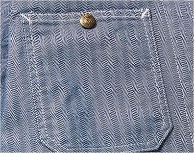 LWB06001 Lee ジップアップジャケット(男性用) ボタン付きのポケット