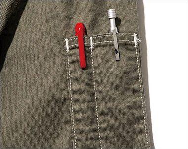 LWB06002 Lee ジップアップジャケット(男性用) ペン挿しポケット