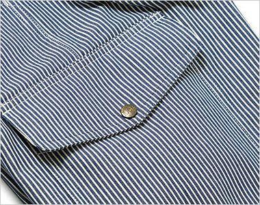 LWP63002 Lee カーゴパンツ(女性用) 深さのあるフラップ付きのサイドポケット