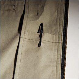 バートル [春夏用]1101 制電T/Cライトチノジャケット(男女兼用)  内ペンポケット