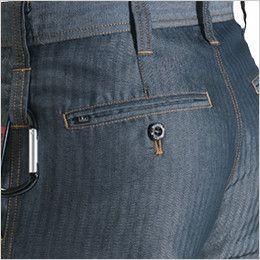 バートル 1512 [春夏用]ヘリンボーン&T/Cライトチノカーゴパンツ(男女兼用) サイズチップ