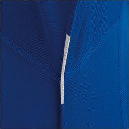 バートル 413 ドライメッシュ長袖ジップシャツ[左袖ポケット付](男女兼用) 消臭テープ仕様