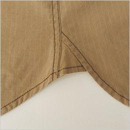バートル 5103 [春夏用]リップクロス長袖シャツ(綿100%)(男女兼用)  補強デザイン