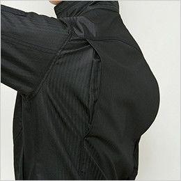 バートル 5511HB ヘリンボーン長袖ジャケット(男女兼用) アームノーフォーク
