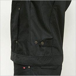 バートル 5511HB ヘリンボーン長袖ジャケット(男女兼用) 脇ゴム無しドットアジャスター