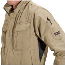 バートル 6091 [秋冬用]ソフトツイルジャケット(男女兼用)  ペンポケット